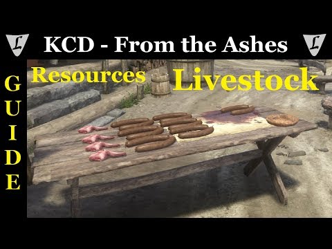 Kingdom Come - From the Ashes || Resources Guide || Livestock
