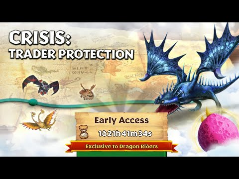 CRISIS:TRADER PROTECTION Part 1- New Gauntlet Event- Dragons:Rise of Berk