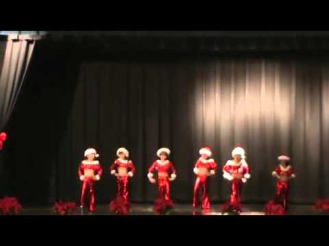 GiGi's Academy 2012 Christmas show at Filer Middle School