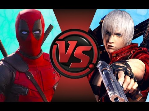 DEADPOOL vs DANTE! Cartoon Fight Club Episode 89