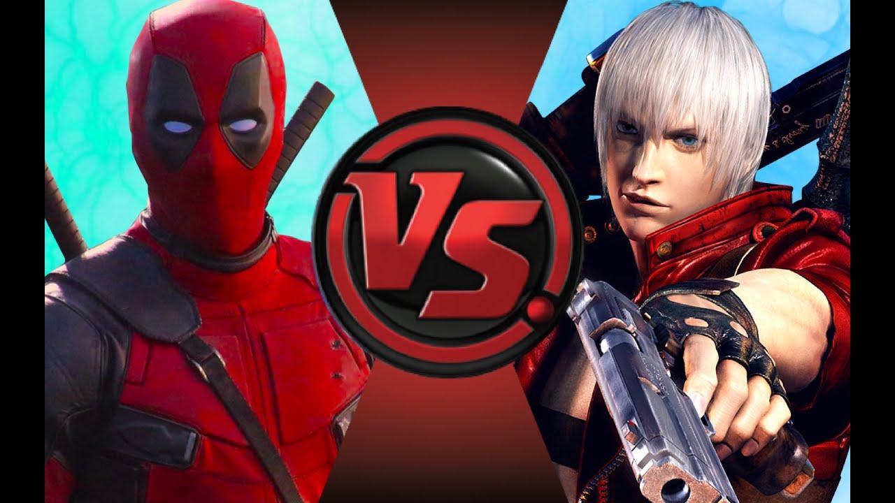 Download DEADPOOL vs DANTE! Cartoon Fight Club Episode 89