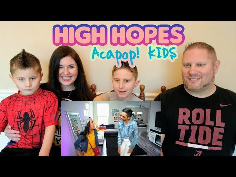 Acapop! KIDS - HIGH HOPES by Panic! At The Disco (Official Music Video) REACTION