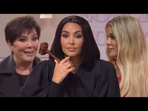 SNL: Kim Kardashian ROASTS Her Family