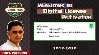 Windows 10 Digital License Activator 2018