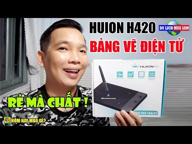 Review Bảng Vẽ Điện Tử Huion H420 Giá Rẻ 🔴 Du Lịch Mua Sắm
