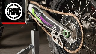 DID 520 x 120 Links MX Racing Series  Non Oring Gold Drive Chain