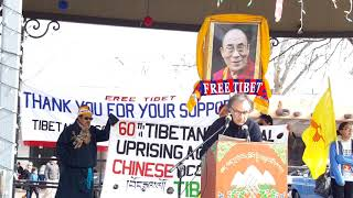 TIBET ASSOCIATION OF SANTA FE 2019 60th COMMEMORATION OF TIBETAN NATIONAL UPRISING Clip 2