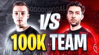 100K SQUAD BUILDER vs FAZE TASS | FIFA 19 ULTIMATE TEAM