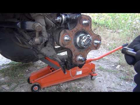Замена втулок задних рычагов квадроцикла CFMOTO