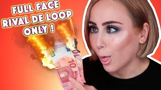 FULL FACE USING ONLY RIVAL DE LOOP PRODUCTS |🚫 FAIL🚫 | Hatice Schmidt