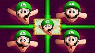 Mario Party 2 - All Minigames (Luigi)