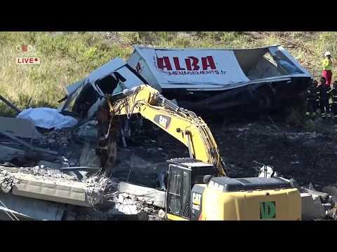 Genova, crolla il viadotto Morandi - il giorno dopo, tra dolore e indagini