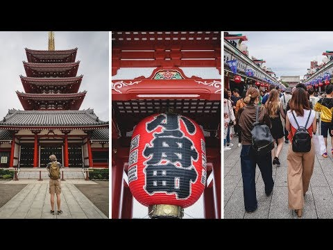 Japanese Street Food Tour in Asakusa (浅草) | Tokyo, Japan