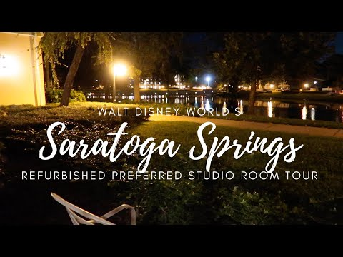 Saratoga Springs Refurbished Studio Room Tour!