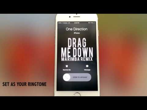 One Direction Drag me Down Marimba Remix Ringtone