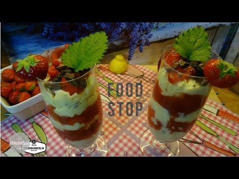 Karibik Traum - Mango Erdbeeren Schoko Creme fresh DIY selber machen