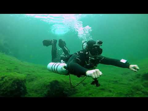 Cave & Sidemount Diving: Learning To Cave Dive. Mount Gambier, SA