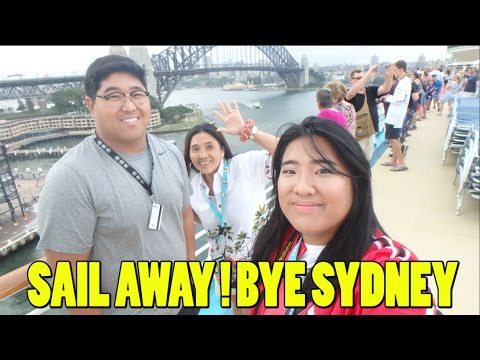 Sail Away Celebration Sydney Port | ROYAL CARIBBEAN | Voyager of the Seas