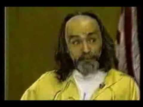 Charles Manson Explains Who He is listed (or ranked) 2 on the list 10 Strangest Charles Manson Quotes