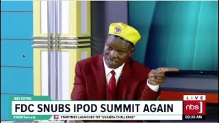 FDC Snubs IPOD Summit Again| One on One With Tamale Mirundi