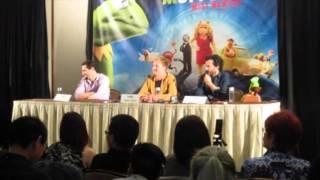 Muppets Most Wanted Press Conference - Bret McKenzie, James Bobin & Todd Lieberman