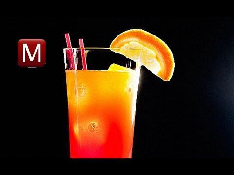 Текила брусника апельсин. Коктейль с серебряной текилой, морсом и соком