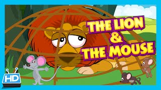 The Lion And The Mouse Story Bedtime Story