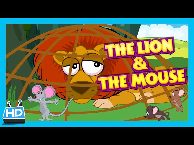 """""""The Lion and The Mouse"""" Story 