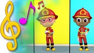 TuTiTu Songs | Fire Truck Song Ver.2 | Songs for Children with Lyrics