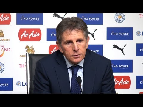 Leicester 0-2 Manchester City - Claude Puel Post Match Press Conference - Premier League #LEIMCI