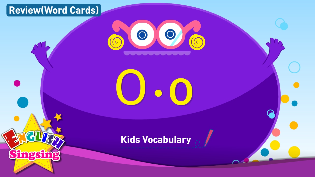 Worksheet Words That Start With O For Kids kids vocabulary compilation words starting with o word cards review