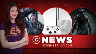 New Xbox One Update & Skyrim Remaster Frame Rate Issues! - GS Daily News