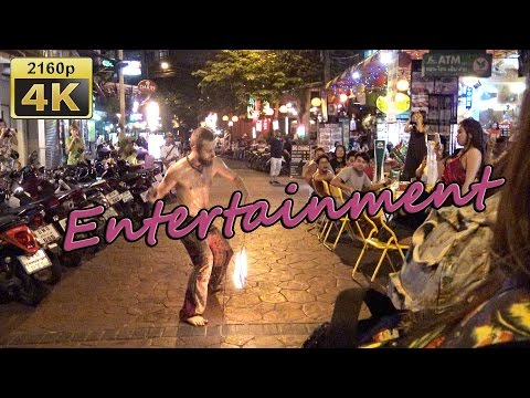 Soi Ram Butri and Rambuttri Alley in Bangkok - Thailand 4K Travel Channel