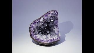Amethyst Geode from Artigas, Uruguay
