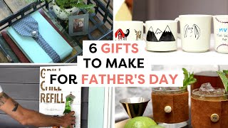 6 Unique Gifts For Dad | DIY Father's Day Gift Ideas