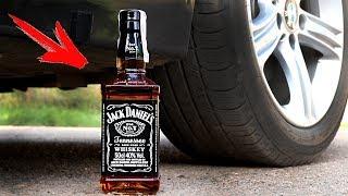 EXPERIMENT: CAR VS JACK DANIELS