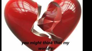Nothing Broken But My Heart- Celine Dion (lyrics)