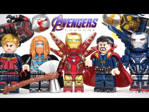 Lego Avengers Endgame Final Battle Iron Man Doctor Strange Thor Unofficial Lego Minifigures