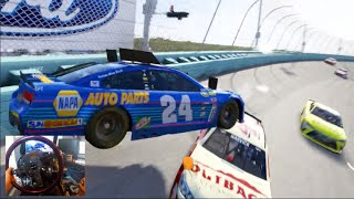 fm6 nascar gopro world tour showcases shake and bake