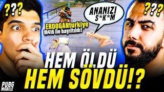 ÖLDÜRDÜK DİYE ANAMIZA SÖVDÜ!! AĞIR KÜFÜR ETTİ!! | PUBG Mobile Erangel Gameplay