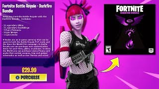 *FILTRATE* NEW PACK OF SKINS DARKFIRE FORTNITE BATTLE ROYALE