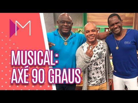 Musical: Axé 90 graus - Mulheres (17/08/18)