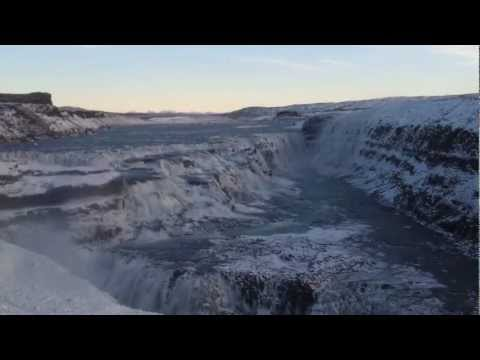 Terrible cellphone videos of water in Iceland