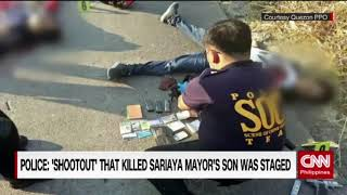 Police: 'Shootout' that killed Sariaya Mayor's son was staged thumbnail