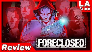 FORECLOSED Review | Cyberpunk Puzzle Adventure! (Video Game Video Review)