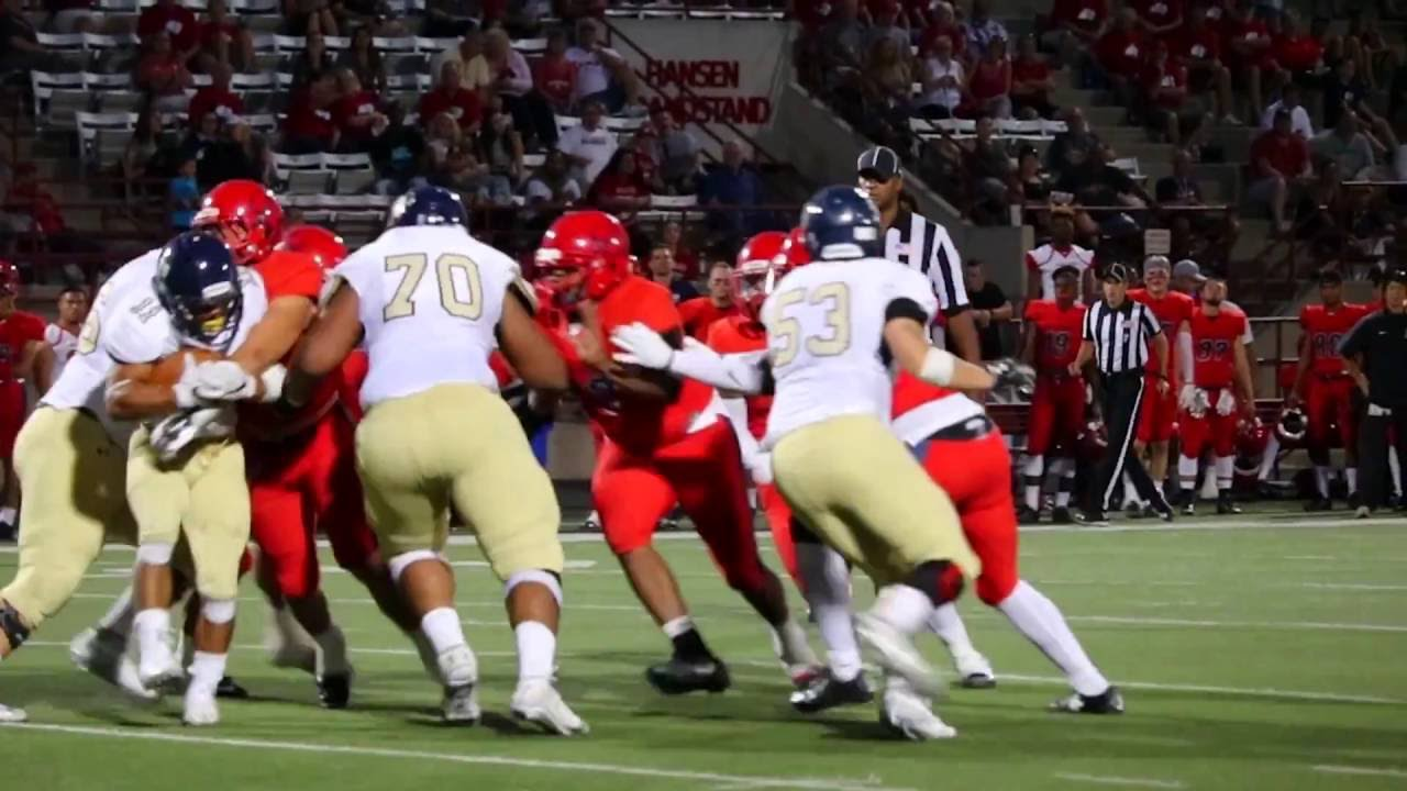 2016 Dixie State Football Sd Mines Highlights Youtube