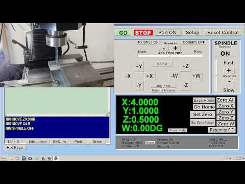Finding Edge of Stock & Running a Simple CNC Program - CNC Masters