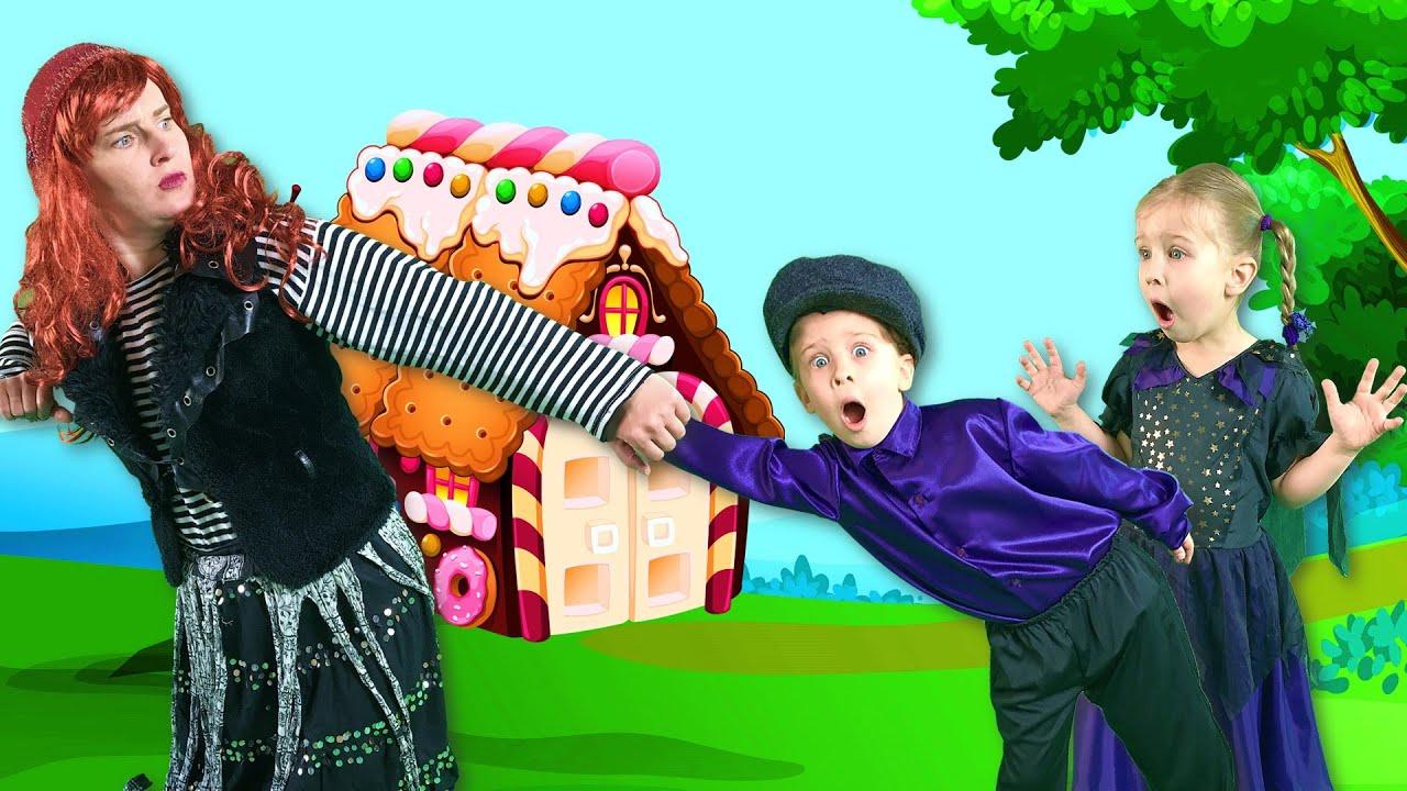 Гензель и Гретель + Джек и бобовый стебель   Сказки на ночь для детей