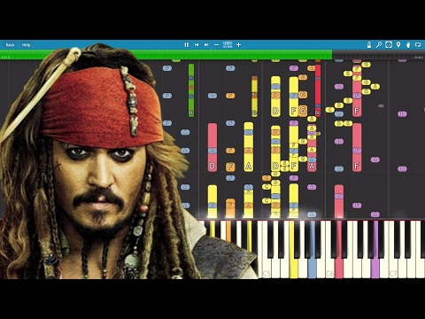 IMPOSSIBLE REMIX - Pirates Of The Caribbean Theme - He's A Pirate - Piano Cover