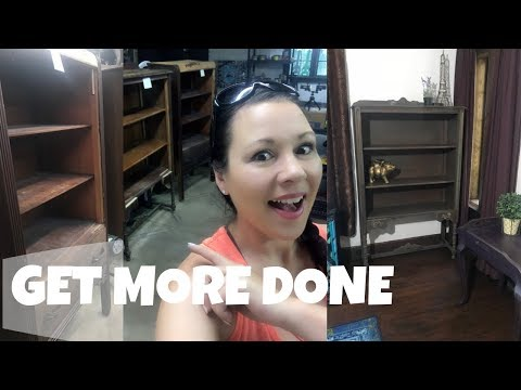 Making The Time To Flip Junk | Plus Shelf Makeover